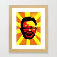 Farewell Kim Jong Il Framed Art Print