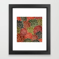 Floral Abstract 7 Framed Art Print