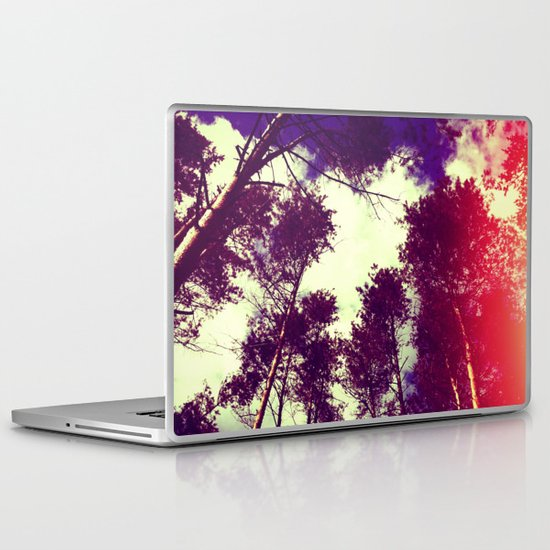 There is a pleasure in the pathless woods... Laptop & iPad Skin