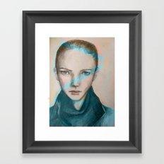 hey you  Framed Art Print