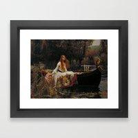 John William Waterhouse … Framed Art Print