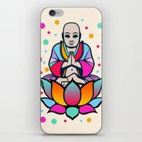 BUDDHA iPhone & iPod Skin