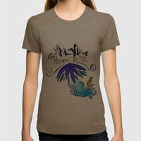 Return To Me Womens Fitted Tee Tri-Coffee SMALL