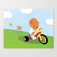 SW Kids - Big Wheel Ackb… Canvas Print