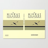 The Midway Islands Trave… Canvas Print