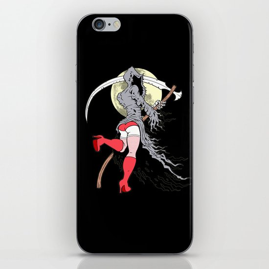 Death Becomes Her iPhone & iPod Skin