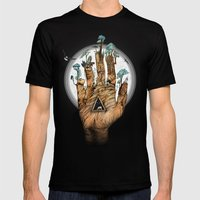 Stargate Mens Fitted Tee Black SMALL