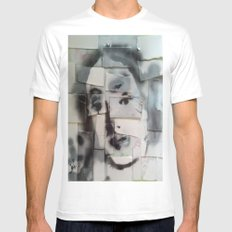 BRICKED VENUSIAN FACE SMALL Mens Fitted Tee White