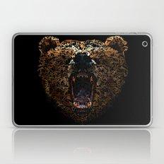 Floral Bear Laptop & iPad Skin