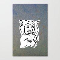 Bear 4 Canvas Print