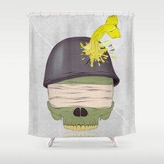 NO WAR  Shower Curtain