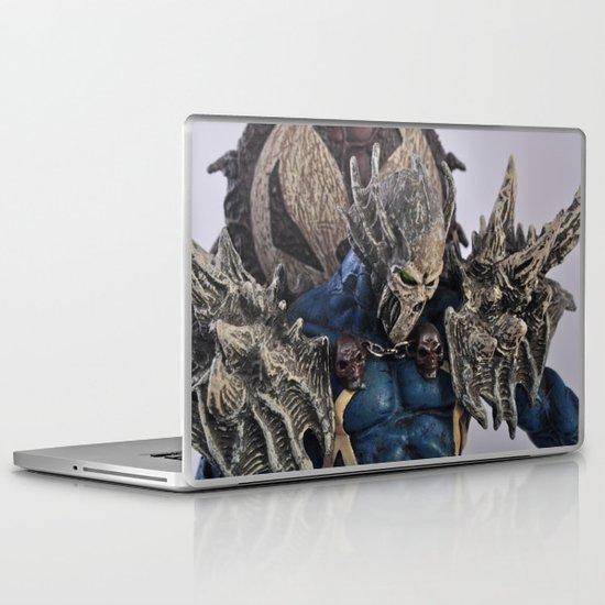 blue Spawn Laptop & iPad Skin