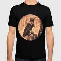 Raven (Slavanic paganism) Mens Fitted Tee Black SMALL
