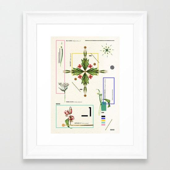 Wild Flowers_1 Framed Art Print