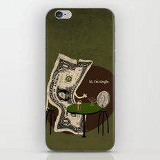 Pick up line iPhone & iPod Skin