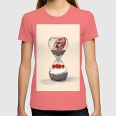 Addicted to you Womens Fitted Tee Pomegranate SMALL