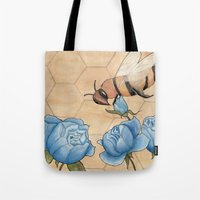 Big Bees Buzzing About B… Tote Bag