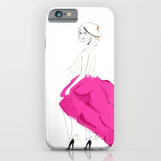 Pink Skirts iPhone & iPod Case