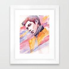 if I were a good man Framed Art Print