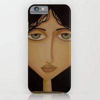 iPhone & iPod Case featuring model 1 by Gabriele Perici