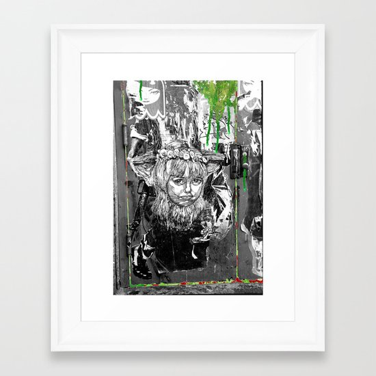 Lock n Key Framed Art Print