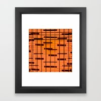 MUSIK Framed Art Print