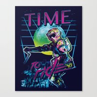 TIME To Ride Canvas Print