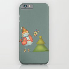 Friends keep warm - greyish iPhone 6s Slim Case