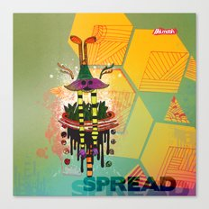 Spread Canvas Print