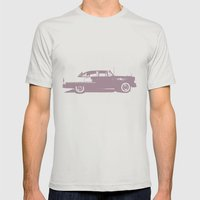 Bel Air Mens Fitted Tee Silver SMALL
