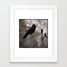 Cross Sitters Framed Art Print