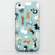 Raining Cats & Dogs iPhone 5c Slim Case