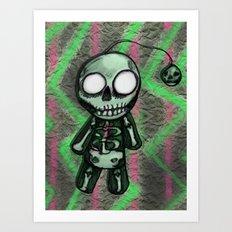 SkeltoBob Art Print