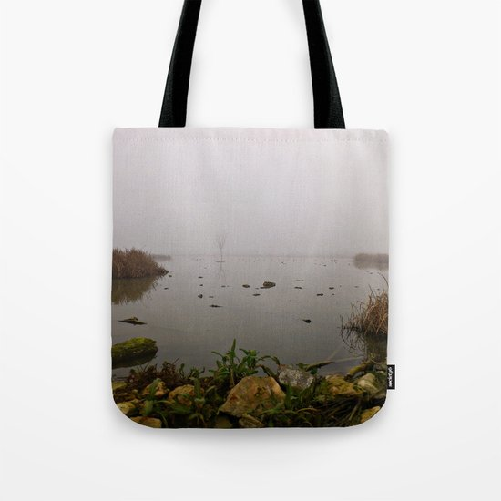 stone, water & fog Tote Bag