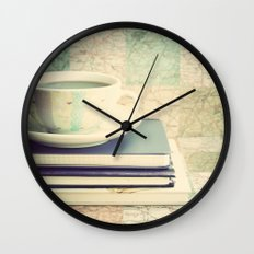 Lets plan a travel  Wall Clock