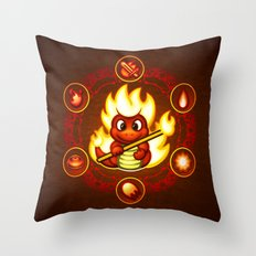 Salamando Throw Pillow