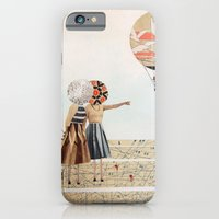 trip to the moon, collage iPhone 6 Slim Case