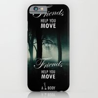 iPhone & iPod Case featuring Friends Help You Move by Chris Kitzmiller