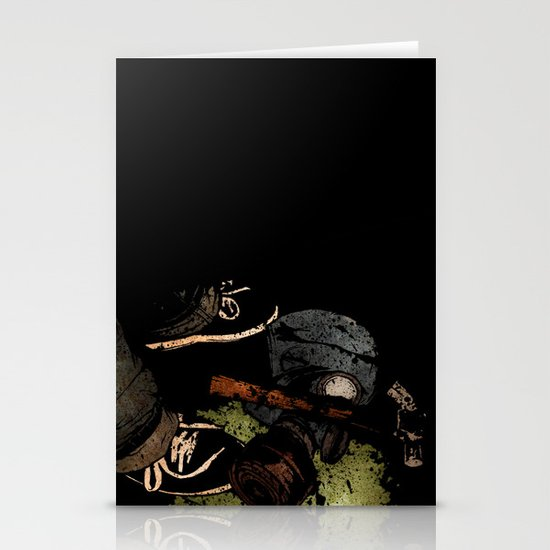 The Weapons Of War Stationery Card