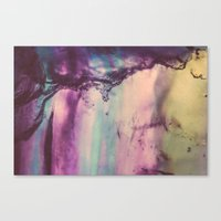 Purple Fluorite from our Earth Canvas Print
