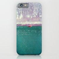 iPhone Cases featuring acqua by Claudia Drossert