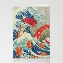 The Great Wave off Kanto - Shiny Version Stationery Cards
