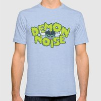 Demon Noise Mens Fitted Tee Tri-Blue SMALL