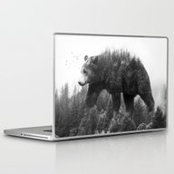 Walking Trough The Fores… Laptop & iPad Skin