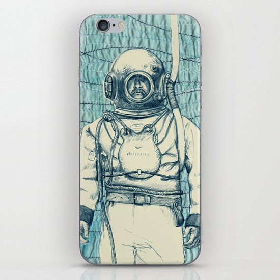 Diver iPhone & iPod Skin