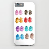 iPhone & iPod Case featuring Baby moccasins by Sophie & Lili