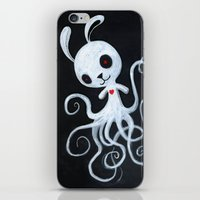 bunnnypus in the dark iPhone & iPod Skin