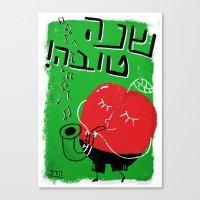 Shana Tova! Canvas Print