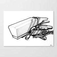 Machine Object III Canvas Print