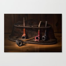 The Pipe Rack Canvas Print